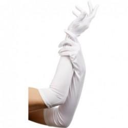Lange Handschuhe in Weiß kaufen