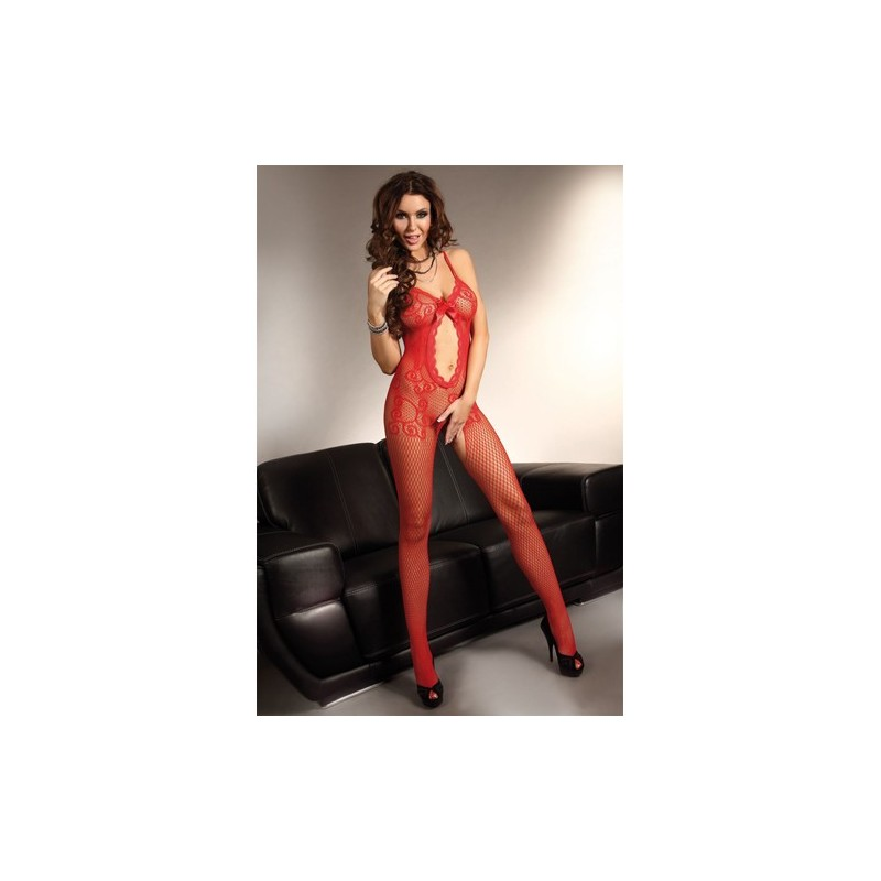 Magali Bodystocking in Rot