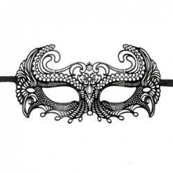 EasyToys - Venezianische Maske aus Metall in Schwarz kaufen