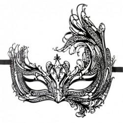 EasyToys - Durchbrochene venezianische Maske in Schwarz kaufen