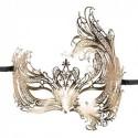 EasyToys - Durchbrochene venezianische Maske in Gold - Bild 1