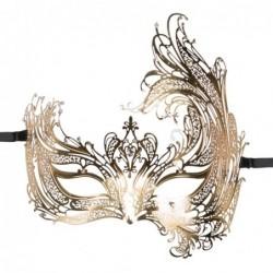 EasyToys - Durchbrochene venezianische Maske in Gold kaufen