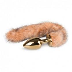 Foxtail-Plug mit Streifen kaufen