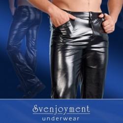 Hose aus Kunstleder in Schwarz kaufen
