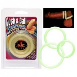Cock&Ball Rings Glow Bild 2