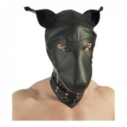 Lederimitat Dog Mask kaufen