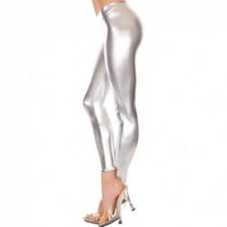 Metallic Leggings SILBER kaufen
