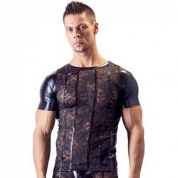 Shirt aus Spitze und Wetlook kaufen