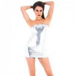 Vixson trägerloses Minikleid - silberfarben kaufen