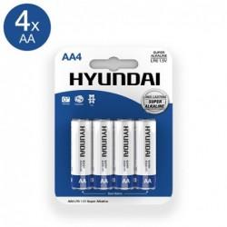Super Alkaline AA Batterien - 4 Stück kaufen