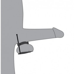 Masturbator mit Saugnapf