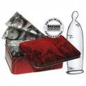 50 transparente dünne Kondome Bild 1