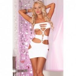 Nocturnal seamless mini dress White kaufen