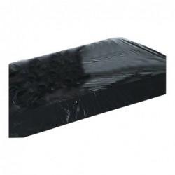 Lack Spannbettlaken schwarz Bild 2