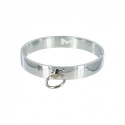 Chrome Slave Collar - Medium/Large kaufen