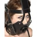 Strict Leather Premium Maulkorb mit offenem Mundknebel - Bild 2