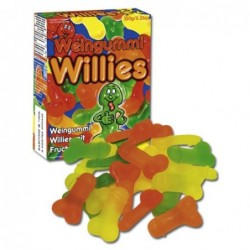 Jelly Willies Fruchtgummies in Penisform 150 g Bild 1