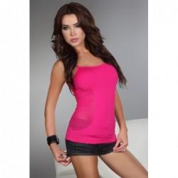 Offenes Shirt Sienna in Neonpink kaufen