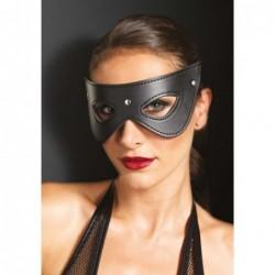 Maske aus Kunstleder mit Nieten kaufen