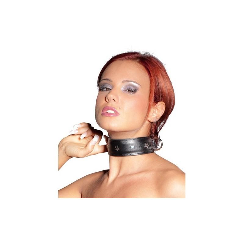 Leder Halsband Bad Girl Bild 1